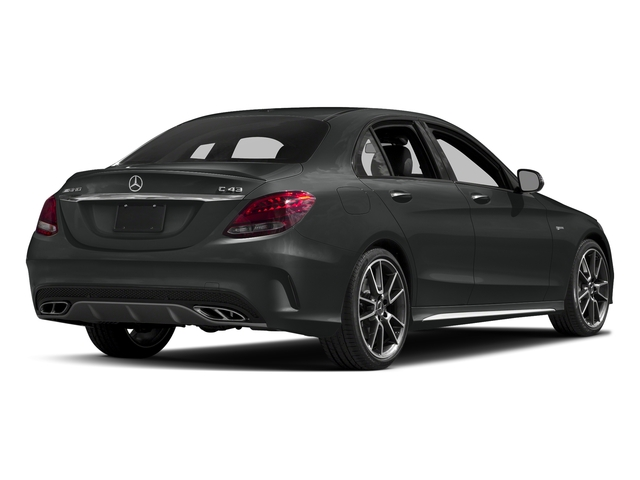 Selenite Grey Metallic 2018 Mercedes-Benz C-Class Pictures C-Class AMG C 43 4MATIC Sedan photos rear view