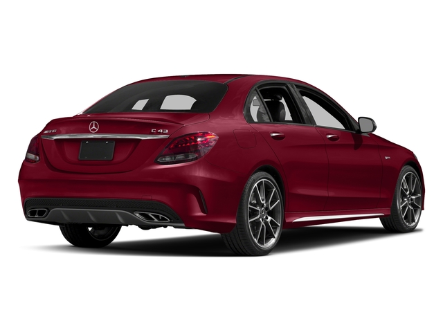 designo Cardinal Red Metallic 2018 Mercedes-Benz C-Class Pictures C-Class AMG C 43 4MATIC Sedan photos rear view