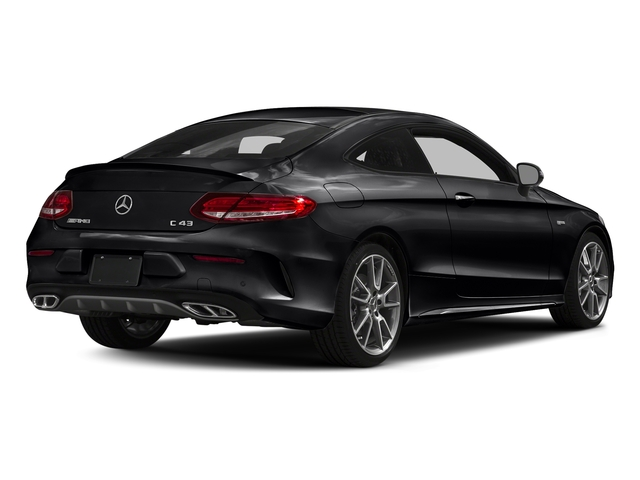 Black 2018 Mercedes-Benz C-Class Pictures C-Class AMG C 43 4MATIC Coupe photos rear view