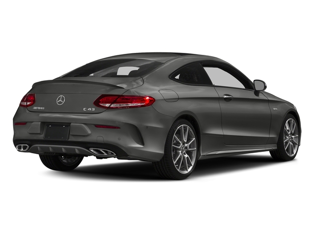 designo Selenite Grey Magno (Matte Finish) 2018 Mercedes-Benz C-Class Pictures C-Class AMG C 43 4MATIC Coupe photos rear view