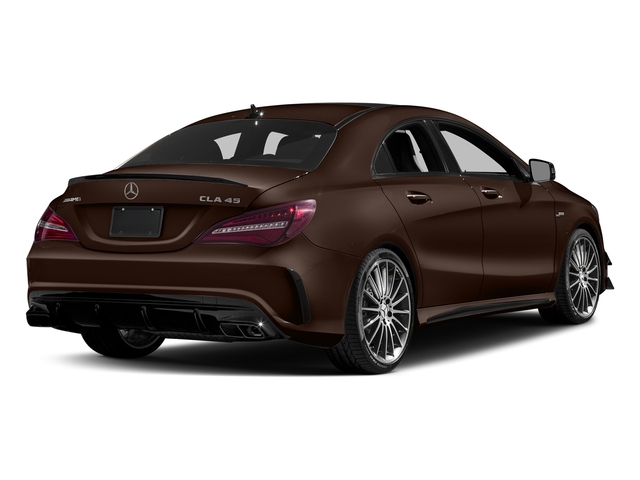 Cocoa Brown Metallic 2018 Mercedes-Benz CLA Pictures CLA AMG CLA 45 4MATIC Coupe photos rear view
