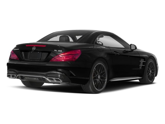 Obsidian Black Metallic 2018 Mercedes-Benz SL Pictures SL AMG SL 65 Roadster photos rear view