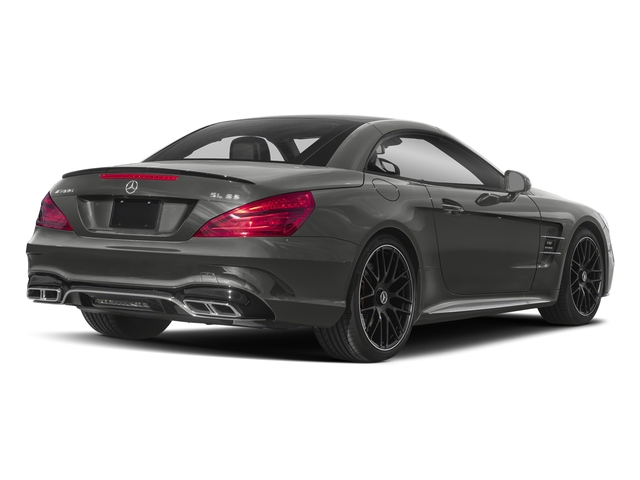 designo Selenite Grey Magno (Matte Finish) 2018 Mercedes-Benz SL Pictures SL 2 Door Roadster photos rear view
