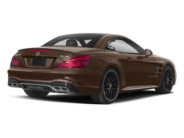 Dolomite Brown Metallic 2018 Mercedes-Benz SL Pictures SL AMG SL 65 Roadster photos rear view