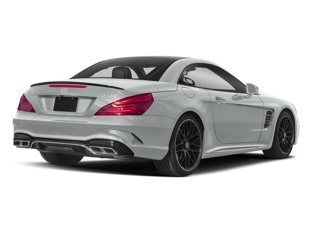 Iridium Silver Metallic 2018 Mercedes-Benz SL Pictures SL 2 Door Roadster photos rear view