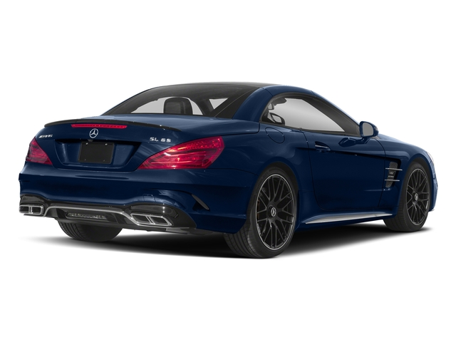 Brilliant Blue Metallic 2018 Mercedes-Benz SL Pictures SL AMG SL 65 Roadster photos rear view