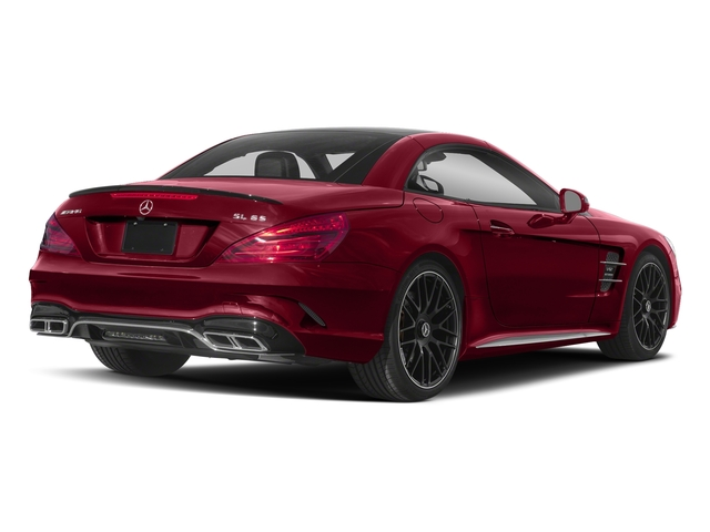 designo Cardinal Red Metallic 2018 Mercedes-Benz SL Pictures SL AMG SL 65 Roadster photos rear view