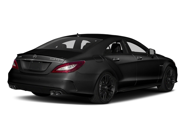 Magnetite Black Metallic 2018 Mercedes-Benz CLS Pictures CLS AMG CLS 63 S 4MATIC Coupe photos rear view