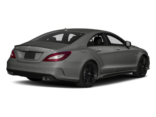 designo Magno Selenite Grey (Matte Finish) 2018 Mercedes-Benz CLS Pictures CLS AMG CLS 63 S 4MATIC Coupe photos rear view