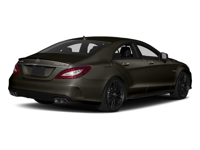 Dakota Brown Metallic 2018 Mercedes-Benz CLS Pictures CLS AMG CLS 63 S 4MATIC Coupe photos rear view