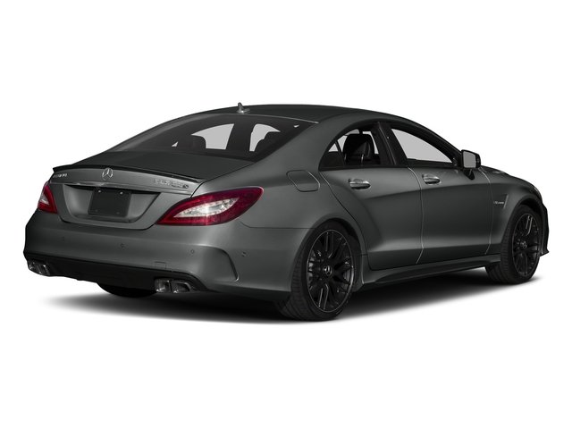 Selenite Grey Metallic 2018 Mercedes-Benz CLS Pictures CLS AMG CLS 63 S 4MATIC Coupe photos rear view