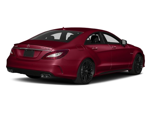 designo Cardinal Red Metallic 2018 Mercedes-Benz CLS Pictures CLS AMG CLS 63 S 4MATIC Coupe photos rear view