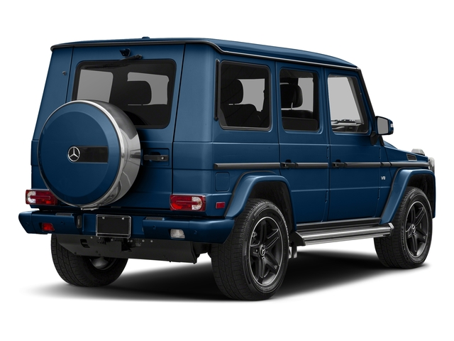 designo Manufaktur Slate Blue Varilcolor 2018 Mercedes-Benz G-Class Pictures G-Class 4 Door Utility 4Matic photos rear view