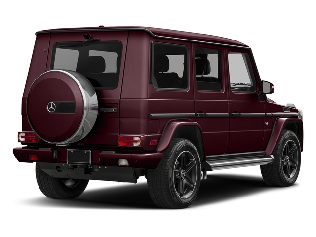 designo Mystic Red Metallic 2018 Mercedes-Benz G-Class Pictures G-Class G 550 4MATIC SUV photos rear view