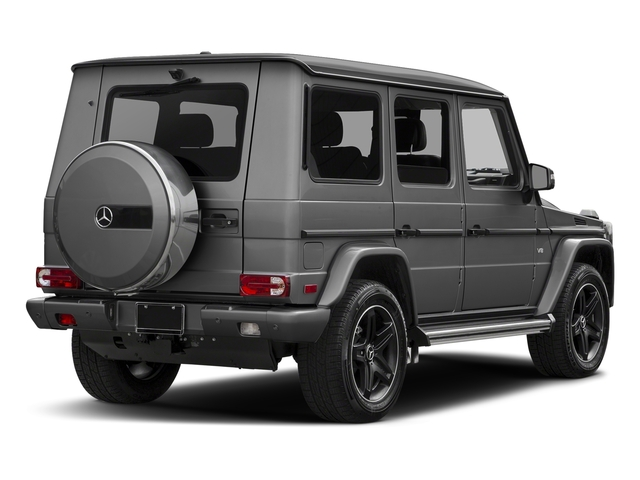 designo Graphite Metallic 2018 Mercedes-Benz G-Class Pictures G-Class G 550 4MATIC SUV photos rear view