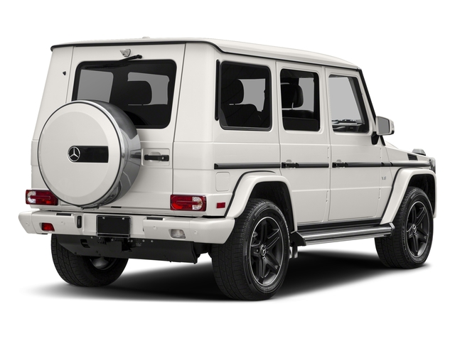 designo Manufaktur Mystic White 2018 Mercedes-Benz G-Class Pictures G-Class 4 Door Utility 4Matic photos rear view