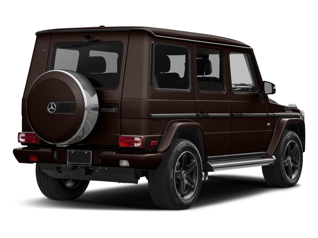 designo Mystic Brown Metallic 2018 Mercedes-Benz G-Class Pictures G-Class G 550 4MATIC SUV photos rear view