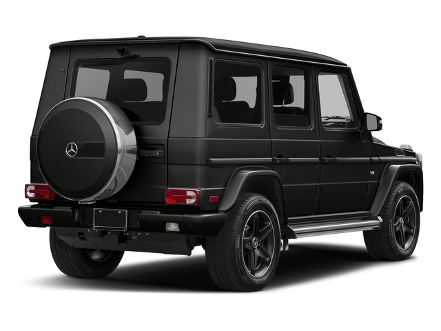 designo Night Black Magno 2018 Mercedes-Benz G-Class Pictures G-Class G 550 4MATIC SUV photos rear view
