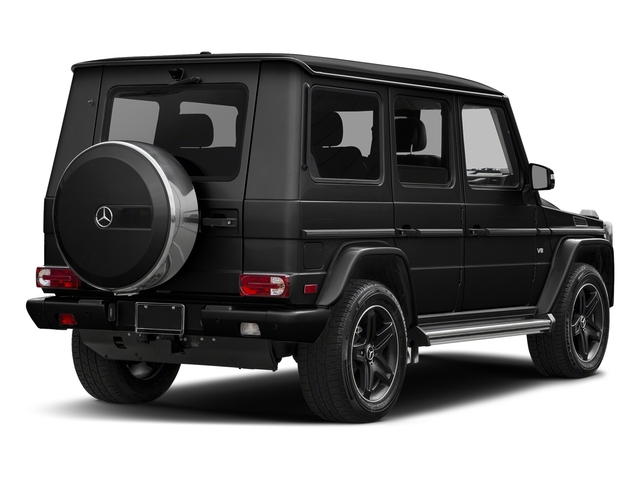 Obsidian Black Metallic 2018 Mercedes-Benz G-Class Pictures G-Class G 550 4MATIC SUV photos rear view