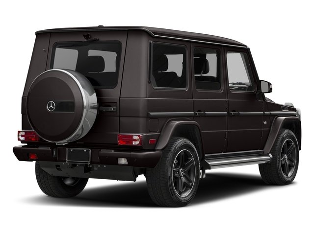 designo Manufaktur Desert Sand 2018 Mercedes-Benz G-Class Pictures G-Class 4 Door Utility 4Matic photos rear view