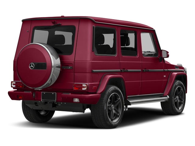 Storm Red Metallic 2018 Mercedes-Benz G-Class Pictures G-Class G 550 4MATIC SUV photos rear view