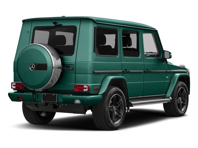 designo Manufaktur Olive Magno 2018 Mercedes-Benz G-Class Pictures G-Class G 550 4MATIC SUV photos rear view