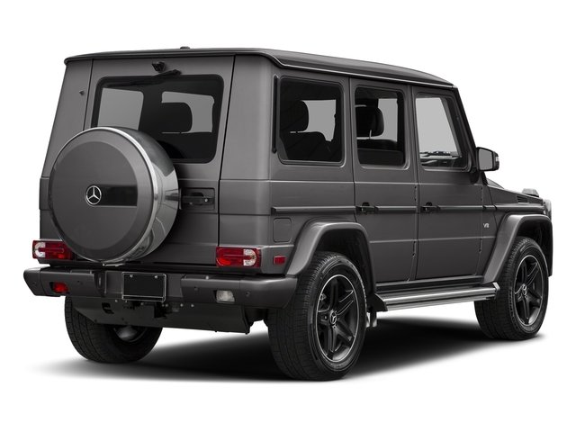 designo Manufaktur Tectite Grey Metallic 2018 Mercedes-Benz G-Class Pictures G-Class G 550 4MATIC SUV photos rear view