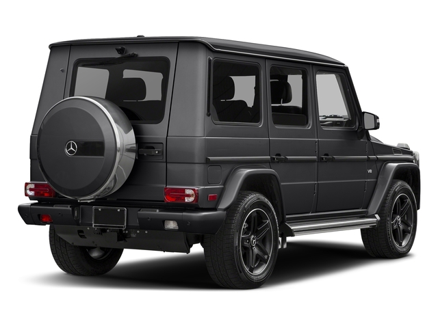 Steel Grey Metallic 2018 Mercedes-Benz G-Class Pictures G-Class 4 Door Utility 4Matic photos rear view
