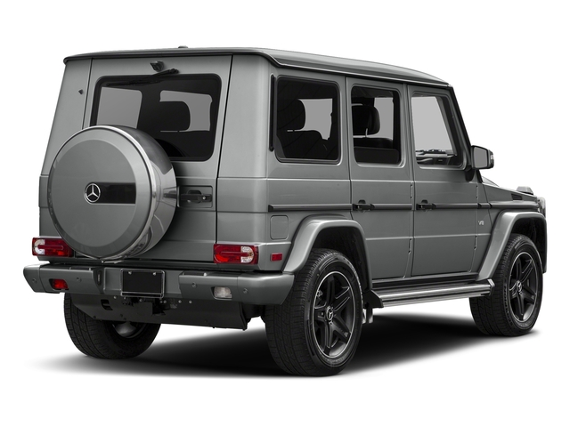 Palladium Silver Metallic 2018 Mercedes-Benz G-Class Pictures G-Class 4 Door Utility 4Matic photos rear view