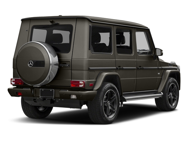 designo Manufaktur Sintered Bronze Magno 2018 Mercedes-Benz G-Class Pictures G-Class G 550 4MATIC SUV photos rear view
