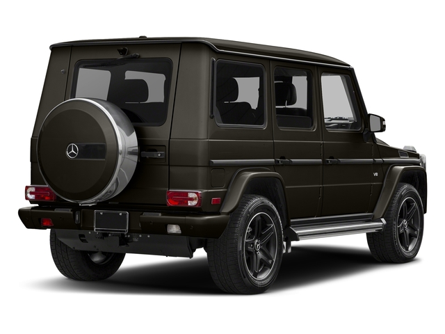 Dakota Brown Metallic 2018 Mercedes-Benz G-Class Pictures G-Class 4 Door Utility 4Matic photos rear view