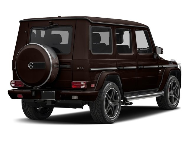 designo Mystic Brown Metallic 2018 Mercedes-Benz G-Class Pictures G-Class AMG G 63 4MATIC SUV photos rear view