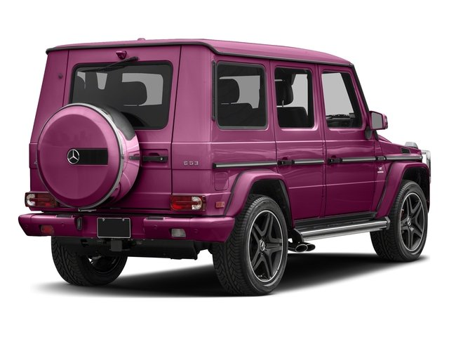 Galaticbeam 2018 Mercedes-Benz G-Class Pictures G-Class AMG G 63 4MATIC SUV photos rear view