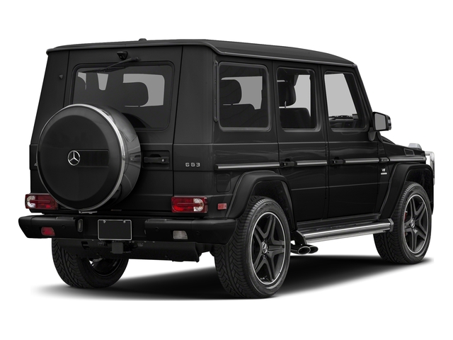 Magnetite Black Metallic 2018 Mercedes-Benz G-Class Pictures G-Class AMG G 63 4MATIC SUV photos rear view