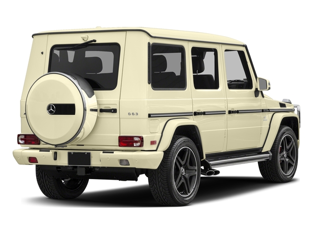 designo Manufaktur Light Ivory 2018 Mercedes-Benz G-Class Pictures G-Class AMG G 63 4MATIC SUV photos rear view