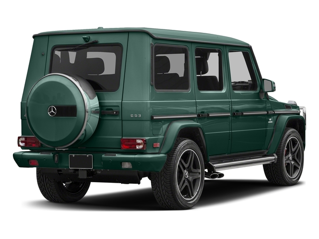 designo Manufaktur Agate Green 2018 Mercedes-Benz G-Class Pictures G-Class AMG G 63 4MATIC SUV photos rear view