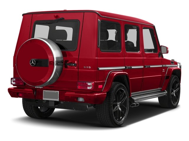 designo Manufaktur Magma Red 2018 Mercedes-Benz G-Class Pictures G-Class 4 Door Utility 4Matic photos rear view