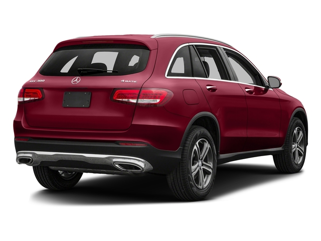 designo Cardinal Red Metallic 2018 Mercedes-Benz GLC Pictures GLC GLC 300 SUV photos rear view