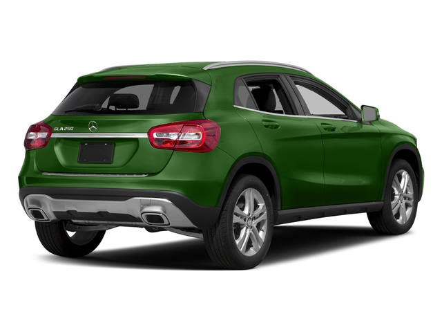 Kryptonite Green Metallic 2018 Mercedes-Benz GLA Pictures GLA GLA 250 4MATIC SUV photos rear view
