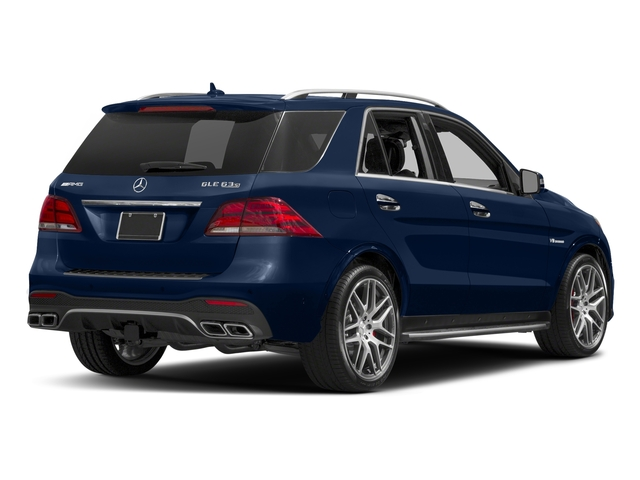 Brilliant Blue Metallic 2018 Mercedes-Benz GLE Pictures GLE AMG GLE 63 4MATIC SUV photos rear view