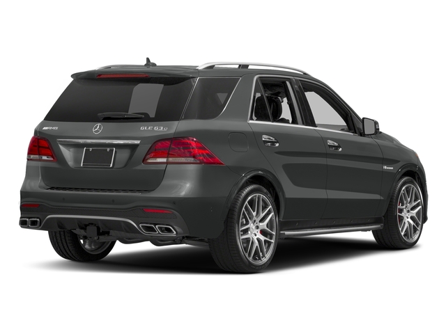 Selenite Grey Metallic 2018 Mercedes-Benz GLE Pictures GLE AMG GLE 63 4MATIC SUV photos rear view