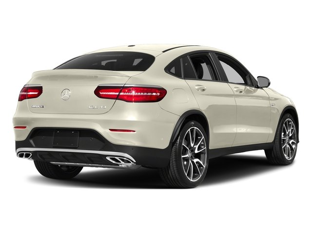 designo Diamond White Metallic 2018 Mercedes-Benz GLC Pictures GLC AMG GLC 43 4MATIC Coupe photos rear view