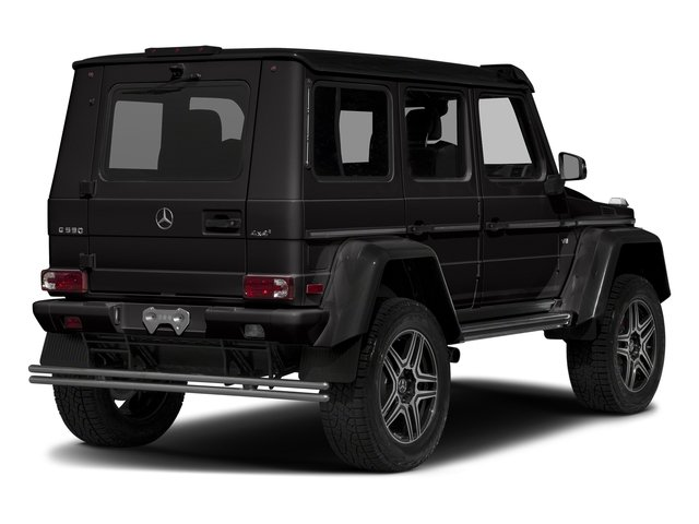 designo Mocha Black Metallic 2018 Mercedes-Benz G-Class Pictures G-Class G 550 4x4 Squared SUV photos rear view