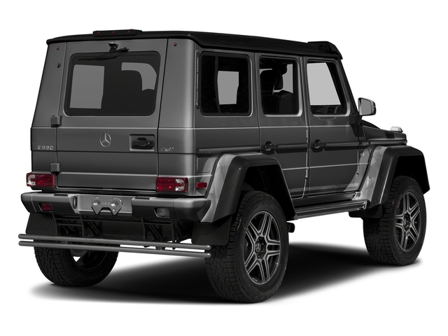 designo Graphite Metallic 2018 Mercedes-Benz G-Class Pictures G-Class G 550 4x4 Squared SUV photos rear view