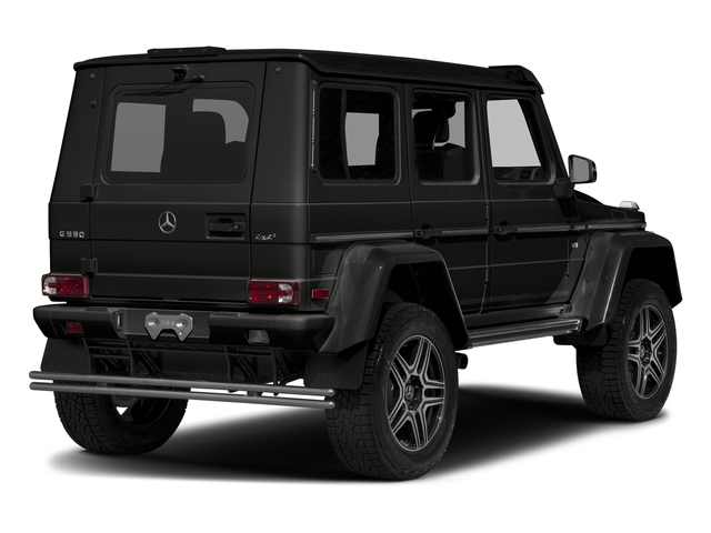 designo Night Black Magno 2018 Mercedes-Benz G-Class Pictures G-Class G 550 4x4 Squared SUV photos rear view