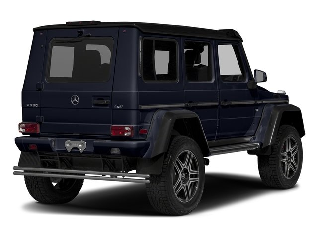 Capri Blue Metallic 2018 Mercedes-Benz G-Class Pictures G-Class G 550 4x4 Squared SUV photos rear view