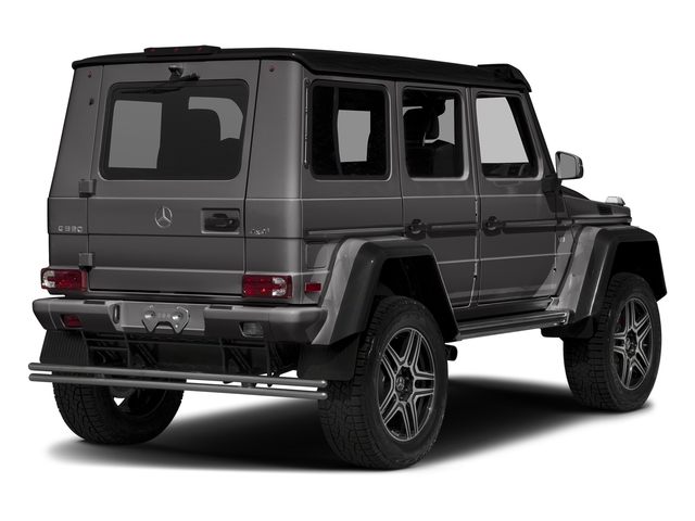 designo Manufaktur Tectite Grey Metallic 2018 Mercedes-Benz G-Class Pictures G-Class G 550 4x4 Squared SUV photos rear view