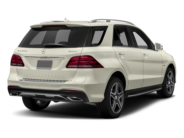 Polar White 2018 Mercedes-Benz GLE Pictures GLE GLE 550e 4MATIC SUV photos rear view