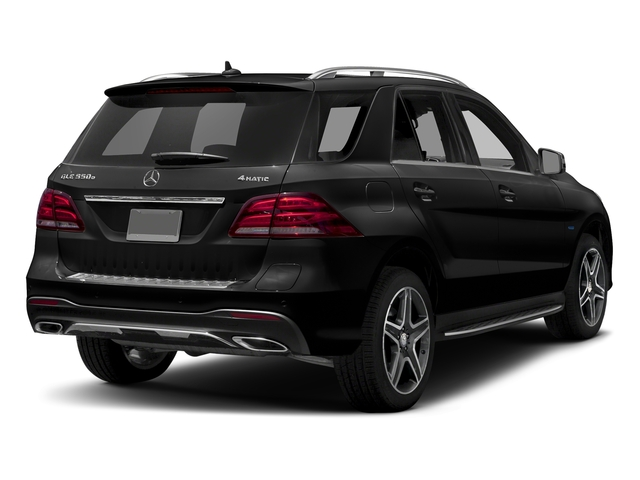 Obsidian Black Metallic 2018 Mercedes-Benz GLE Pictures GLE GLE 550e 4MATIC SUV photos rear view