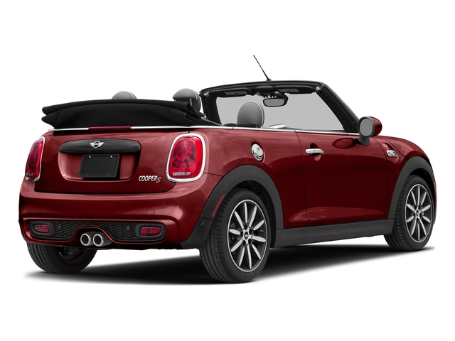 Blazing Red Metallic 2018 MINI Convertible Pictures Convertible Cooper S FWD photos rear view